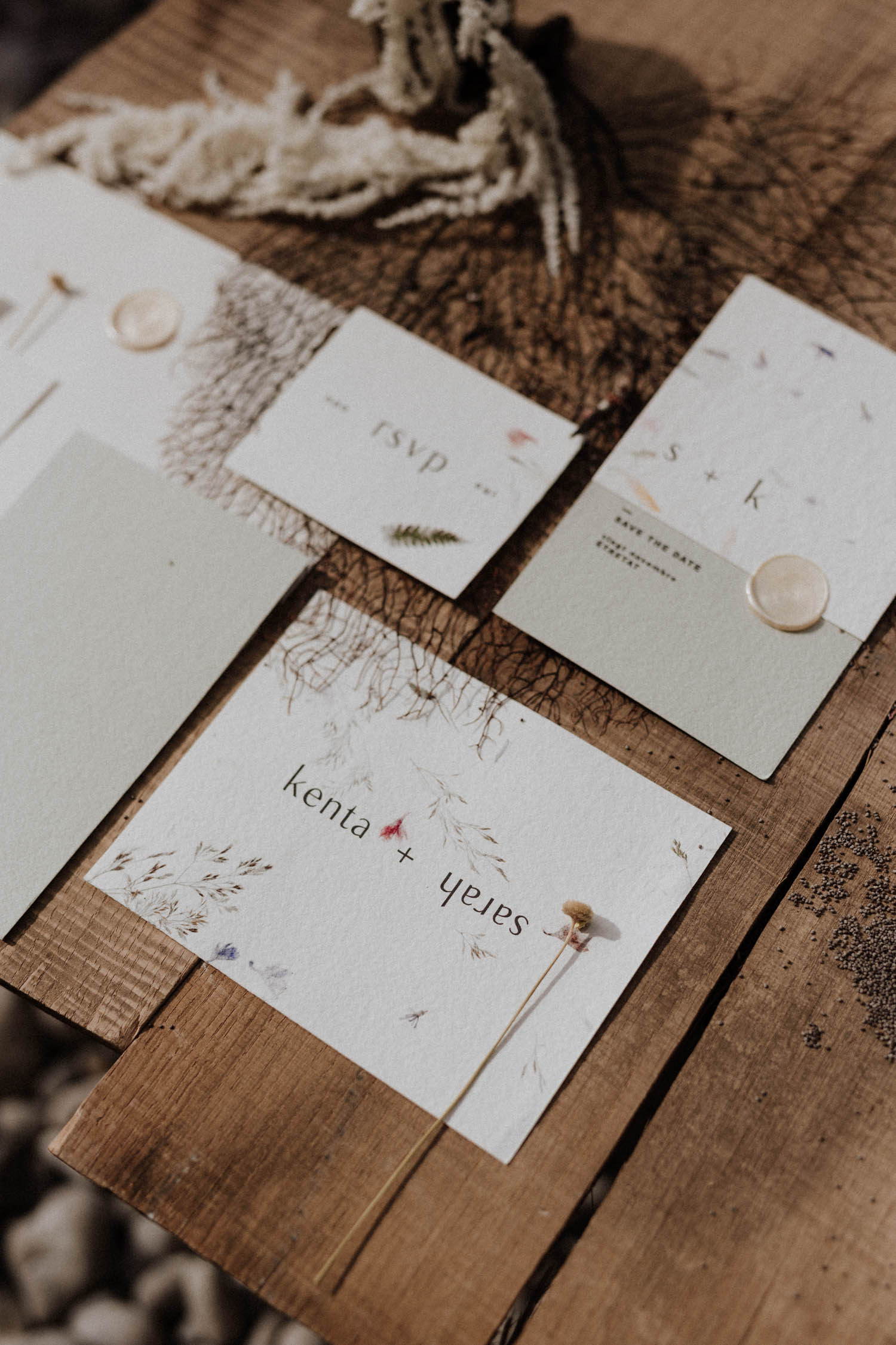 Collection Wabi-sabi [papeterie  | Faire-part mariage]