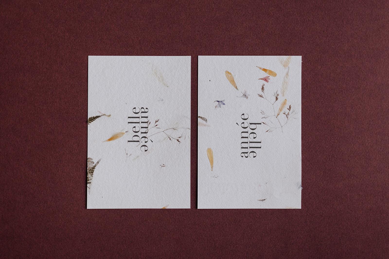 Carte Wabi-sabi [papeterie  | Faire-part mariage]
