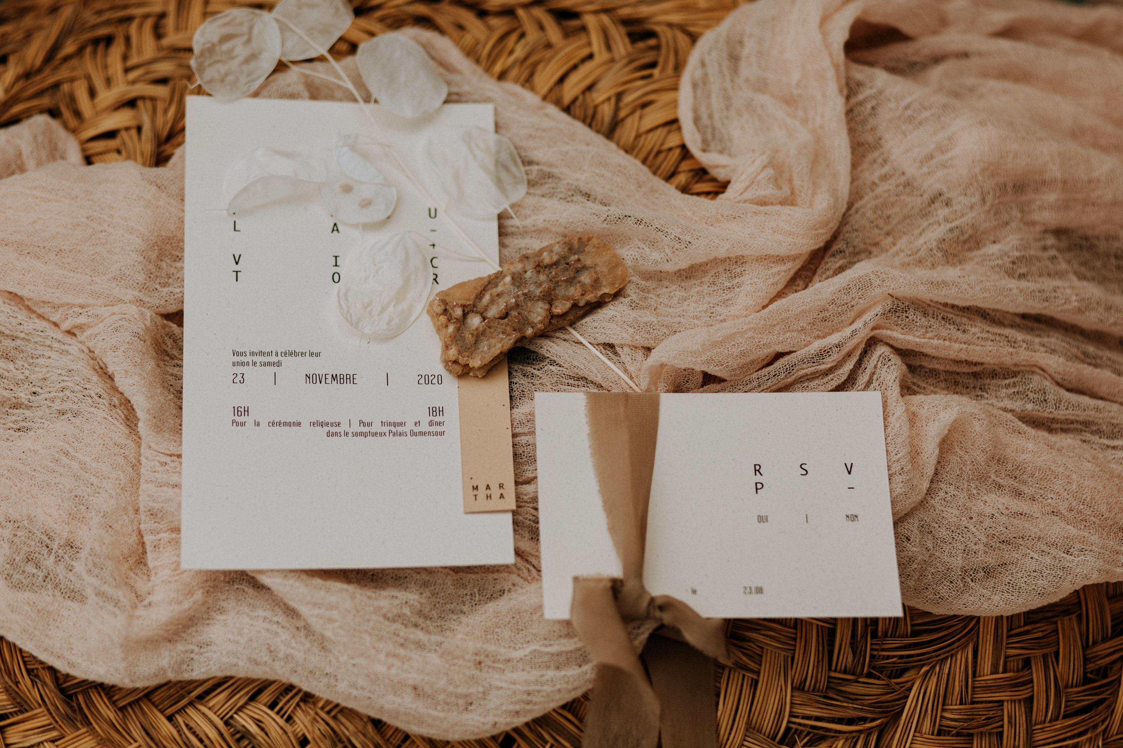 Collection Atlas [papeterie  | Faire-part mariage]